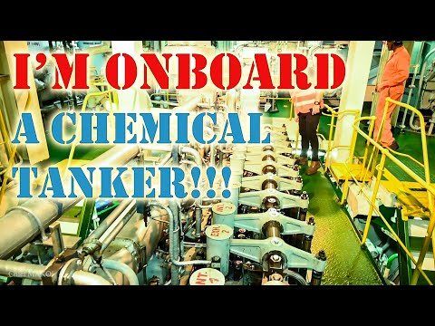 Going Onboard a Chemical Tanker Ship!