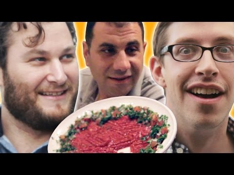 Americans Try Armenian Food With Their Driver