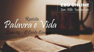EBD - O Cristo Cósmico