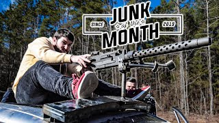 Mounting a WWII Machine Gun to a Car and Shooting It!
