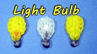 Rainbow Loom (Easy): LIGHT BULB: How to Design / Tutorial (DIY Mommy)