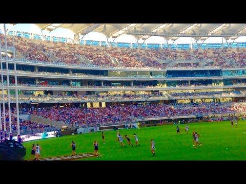 Vlog: Optus Stadium AFL W Fremantle Vs Collingwood