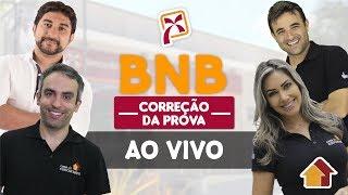 BNB | Correção da Prova | AO VIVO | 02/12