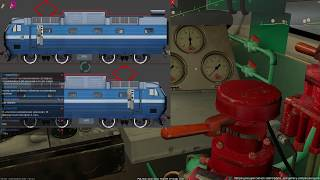 ZDSimulator - (Обучение) Поезд № 147 Москва - Калининград