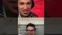 Instagram Live - Maximo Chat with Jason Behrendorff! | European Cricket Studio #8