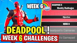 Fortnite Week 6 Deadpool Challenges! Find Deadpool's big black marker Fortnite Chapter 2 - Season 2