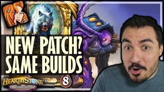 NEW PATCH? SAME BUILDS! - Hearthstone Battlegrounds