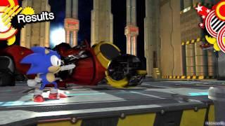 Sonic Generations PS3 - [Part 7 ~ Boss 1: Death Egg Robot]