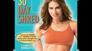 Mi rutina 30 Day Shred de Jillian Michael: nivel 3/ Routine jillian michaels 30 day shred: level 3