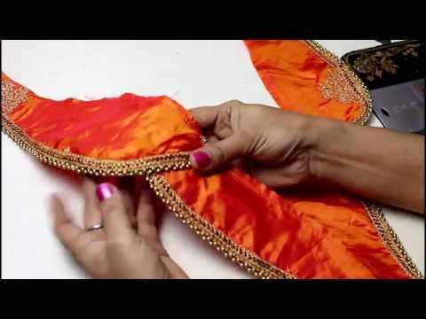 तुलिप स्लीव बनाने का बहुत ही आसान तरीका , Tulip Sleeve Cutting & Stitching,
