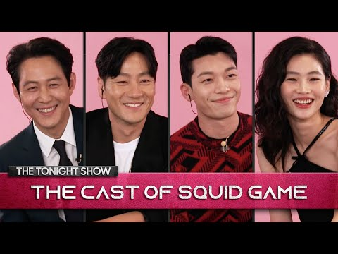 The-Squid-Game-Cast-Reveals-All-Including-Origin-of-The-Red-Light-Green-Light-Doll-Tonight-Show