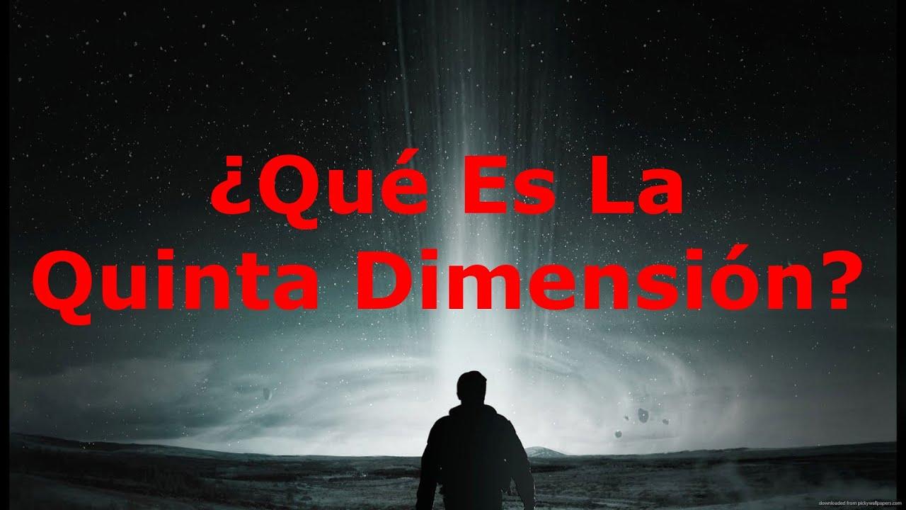 Qué es la quinta dimensión - YouTube