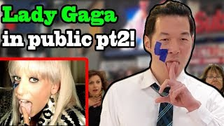 Download Qpark - Lady Gaga in Public 2 (Shallow, Just Dance, Paparazzi) - Qpark