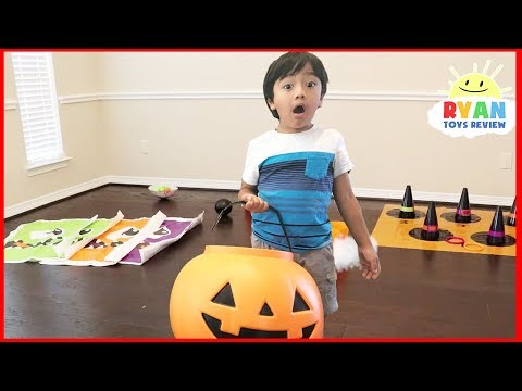 Thumbnail: Halloween Bad kids & Bad Mommy Johny Johny yes papa song nursery rhymes song & learn colors