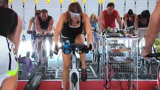 FREE Online Spin® Class - 28 Minute Calorie Crusher with Cat Kom