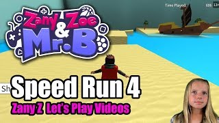 Roblox Speed Run! (Zany Z's Let's Play)