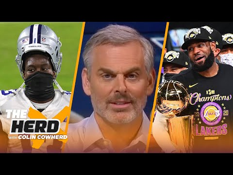 Cowboys have joined the 'eye roll' club, talks LeBron being ranked #1 NBA player — Colin | THE HERD