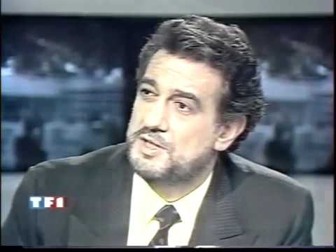 placido domingo interview 1990 pour otello a la bastille