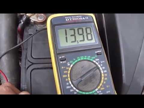 Нет зарядки аккумулятора Опель Омега Б X30XE