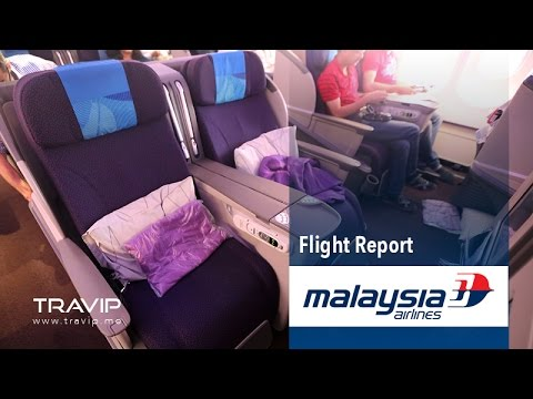 Malaysia Airlines Business Class: Kuala Lumpur (KUL) to Delhi (DEL)