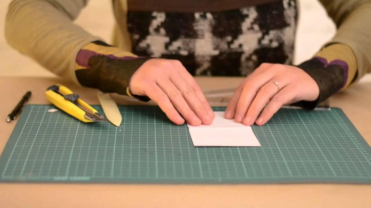 Diy c mo hacer una bolsa de papel youtube - Hacer bolsas de papel en casa ...
