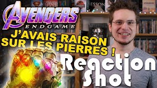 Reaction Shot #5 - Avengers : Endgame