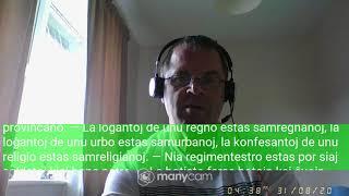 Fundamento De Esperanto Ekzerco 37   Ano