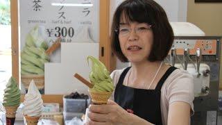 เจอแล้ว! ร้านไอศกรีมชาเขียวเจ้าอร่อยที่ญี่ปุ่น -kyoto japan
