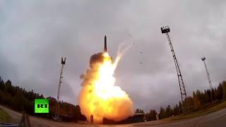 Видео пуска ракеты «Ярс» с космодрома Плесецк по цели на Камчатке