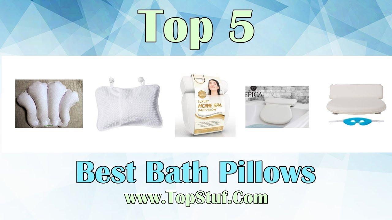Top 5 Best Bath Pillows 2018 - YouTube