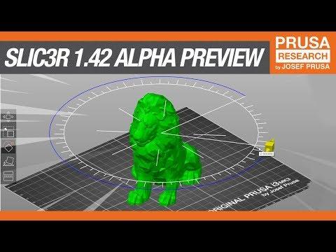 Slic3r PE 1 42 Alpha preview, so many improvements! : prusa3d