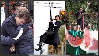 HARRY STYLES SINGING WATERMELON SUGAR, KIWI & MORE ON STREETS OF LA (November 20)