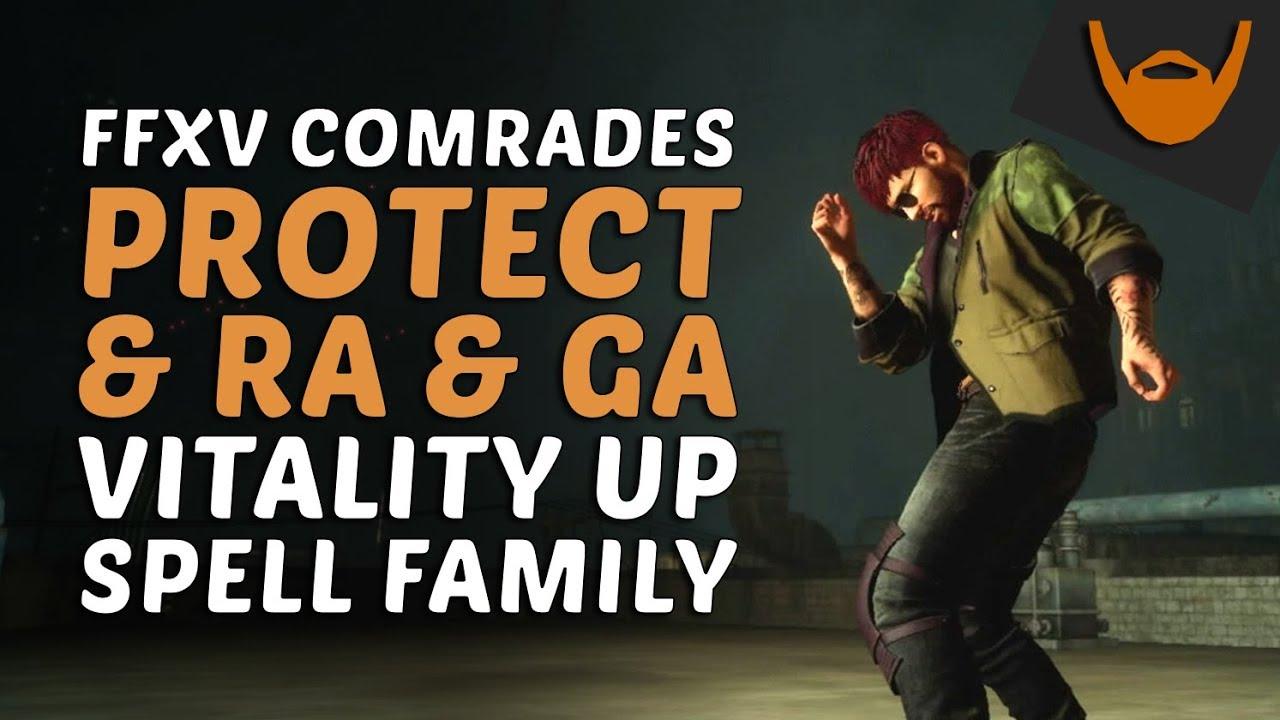 Steam Community :: Video :: FFXV Comrades - Support Magic: Protectga