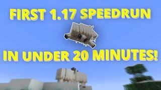 SPEEDRUNNING MINECRAFT 1.17 IN UNDER 20 MINUTES