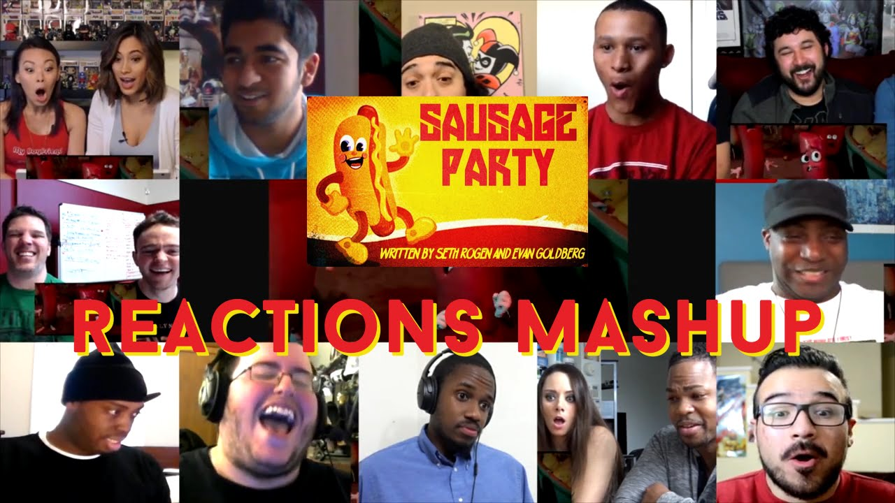 Download Sausage Party - Red Band Trailer - Reactions Mashup