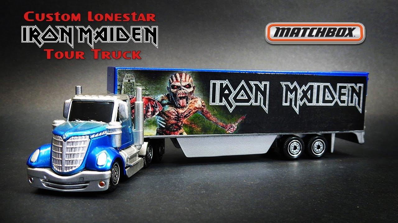Matchbox Custom Lonestar Iron Maiden Tour Truck 2020 Convoys - Build-Off With Matchbox Resurrection
