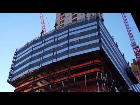 Brookfield Development -- Manhattan West --  at 33rd and 9th Avenue filmed on Monday October 30 2017