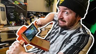 Das 100€ Nintendo PAPPE MOTORRAD  ist...