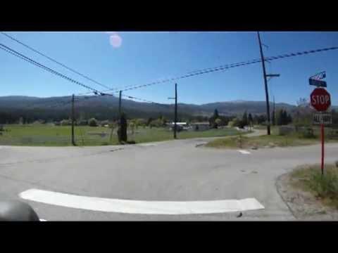Road Cycling down Lakeshore Drive Kelowna May5,2013 part 3