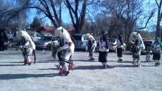 Tewa Dancers of the North (Buffalo Dance)