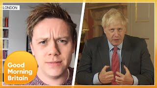 Owen Jones Hits Out At The Government After 'Disastrous Conflicting Messaging'| Good Morning Britain