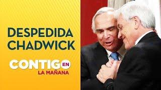 Así despidió el Presidente Piñera a Andrés Chadwick como Ministro del Interior