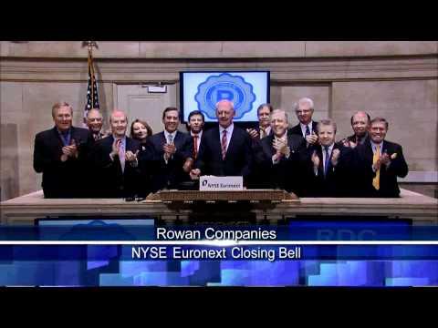 13 Dec 2010 Rowan Companies NYSE Closing Bell