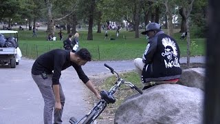 STEALING PEOPLE'S BIKES PRANK