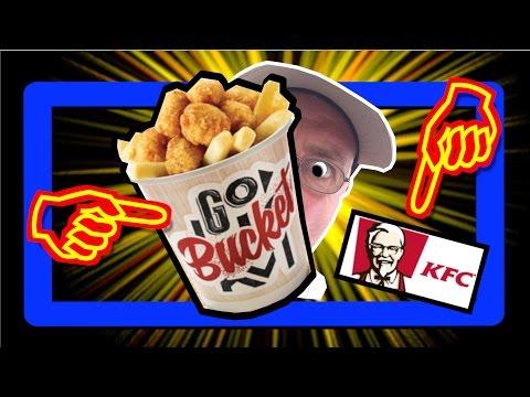 KFC Go Bucket (Cup), Pop Corn & Tenders Chicken | Review