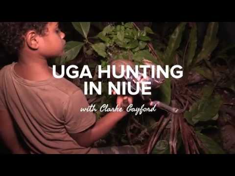 Uga Hunting in Niue with Clarke Gayford
