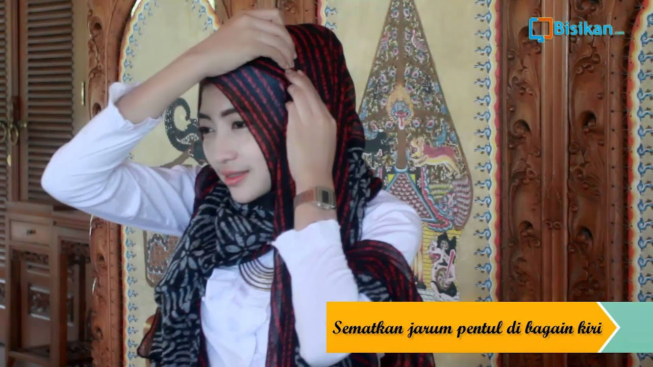 Tutorial Hijab Pashmina Ala Zaskia Sungkar 1 YouTube