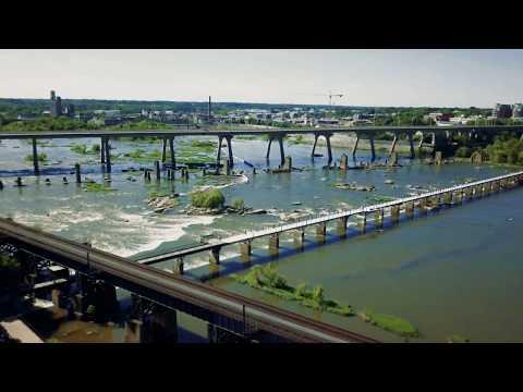 Richmond, VA Browns Island area - filmed with DJI Mavic Pro