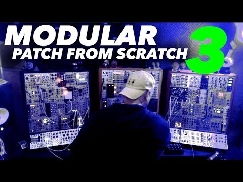 3 patch from scratch live modular synth performance pob youtube. Black Bedroom Furniture Sets. Home Design Ideas