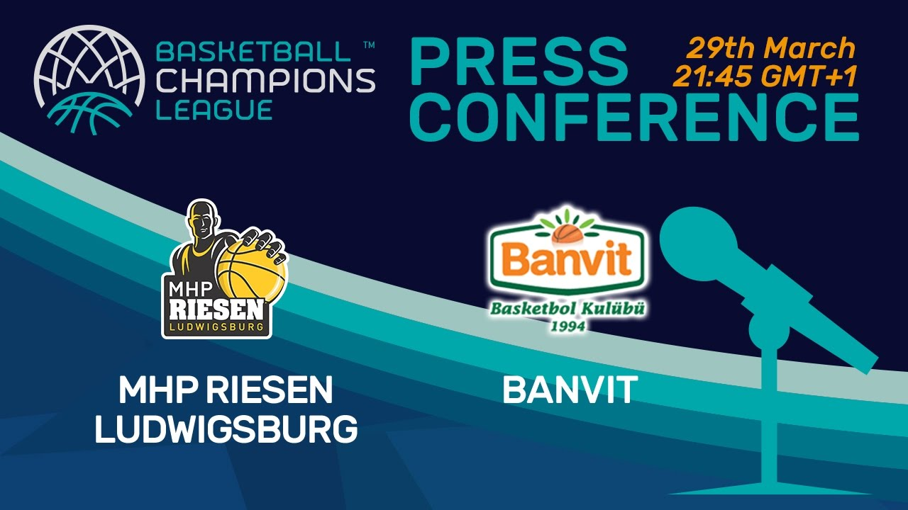 MHP RIESEN Ludwigsburg v Banvit - Press Conference - Quarter-Final